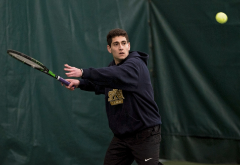 The grand success of the men's tennis team