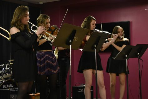 Jazz Band hosts first solo concert