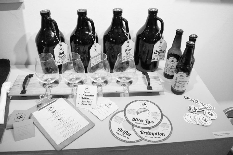 Cameron+Lamoureux+designed+merchandise+for+a+fictional+brewery+in+Allston-Brighton+for+his+capstone