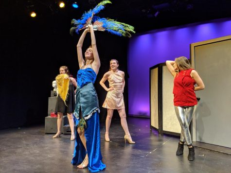 Senior thesis showcases quick costume changes and handmade outfits