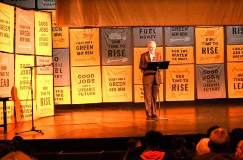 Sunrise movement fights for Green New Deal