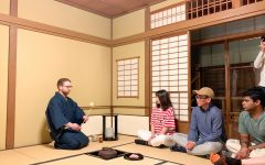 Students celebrate Japanese culture at Japanese Tea Ceremony