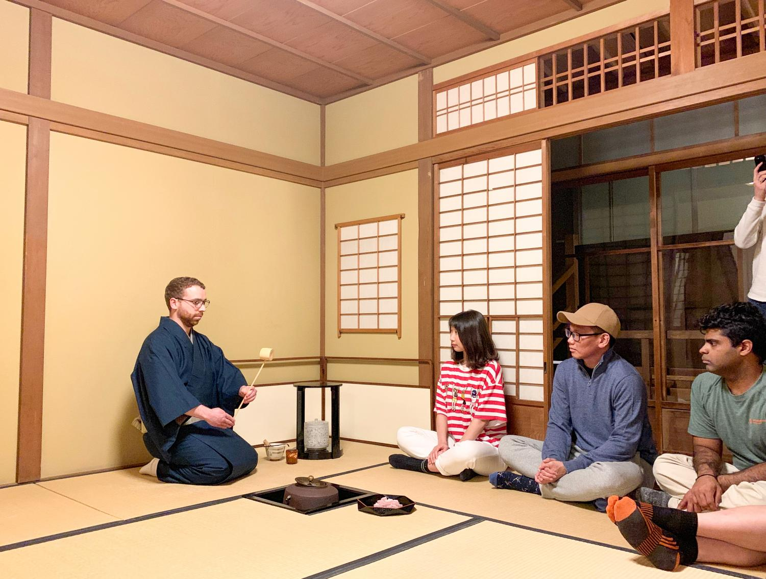 Japanese Student Association hosts Japanese Tea Ceremony