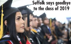 Commencement ceremonies send off Suffolk graduates