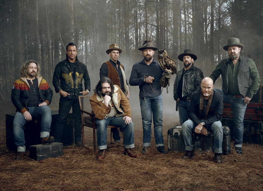 """The cover photo of """"The Owl,"""" Zac Brown Band's seventh studio album that was released on Friday."""