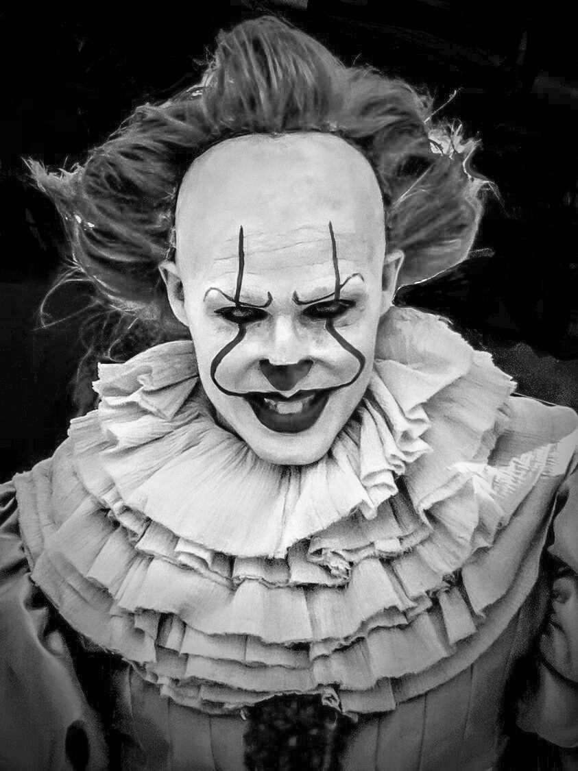Stephen King's iconic fictional character Pennywise