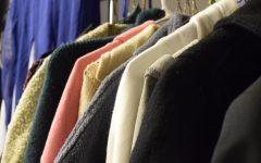 Sale items included various winter coats