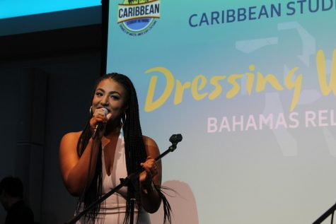 "Suffolk alumna Rebecca Zama opens for ""Dressing with Purpose"""