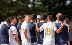 Men's soccer captains leading team to final stretch