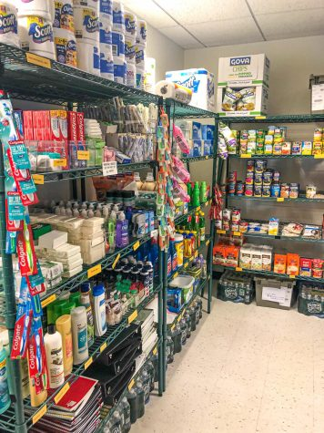 The Suffolk CARES Pantry celebrated its first anniversary on Oct. 10, 2019. The pantry assists Suffolk students facing food insecurity