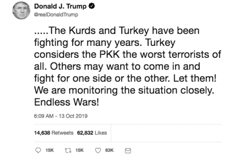 Global commentary: Turks continue to pursue Kurds in Syria, Trump continues to tweet