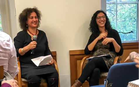 Award-winning Israeli author shares personal stories with Suffolk community