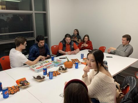 Members of Russian Speaking Community Club make friends and participate in Halloween event