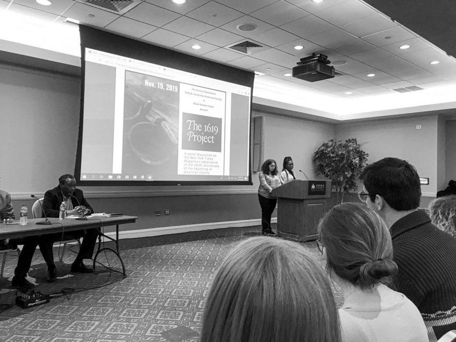 Suffolk panel honors Black Studies