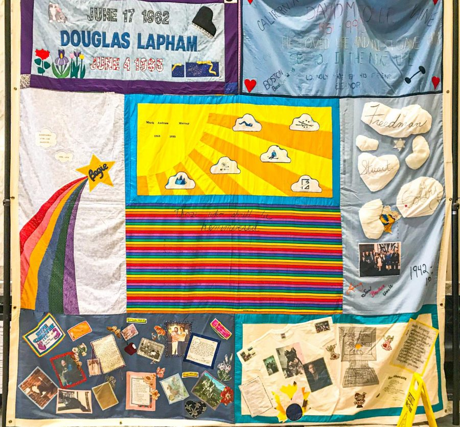 AIDs Quilts memorial brings diversity to Suffolk campus