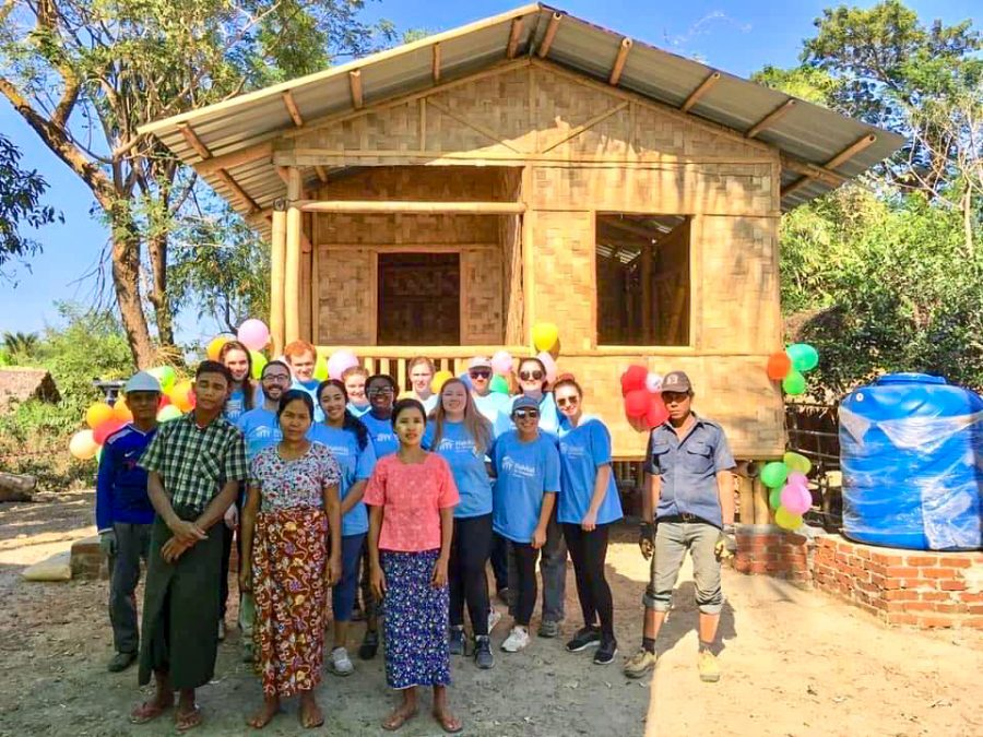 Suffolk students serve communities in Myanmar and Cambodia