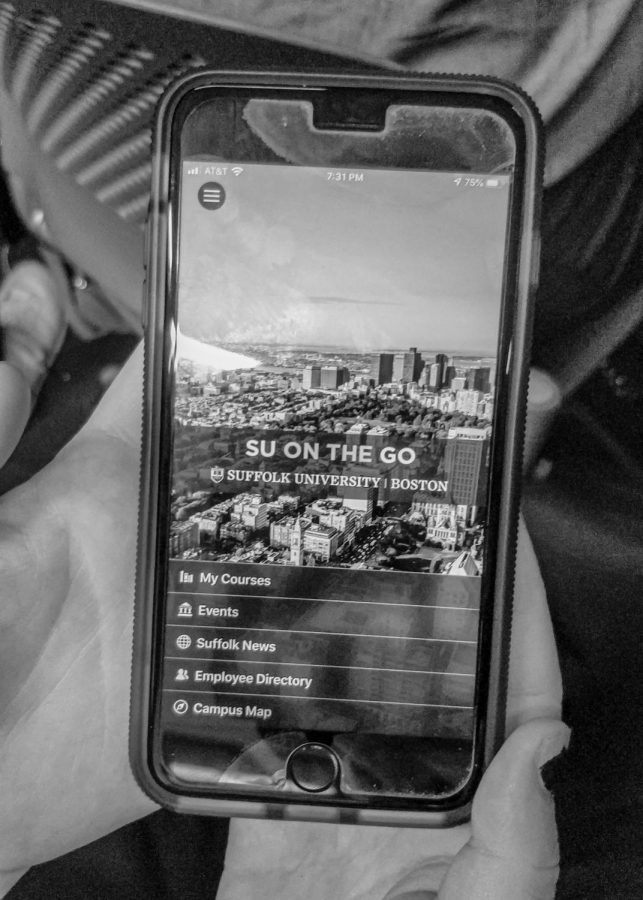 Suffolk's first mobile app, SU on the Go, rolled out in November.
