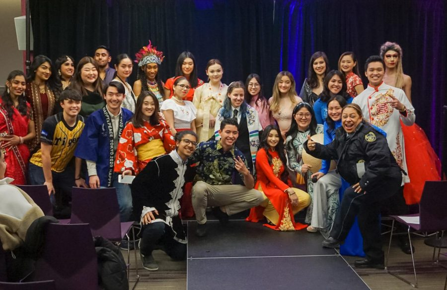 "Students celebrate fashion and culture on Suffolk's campus at ""A Night Around the World"""