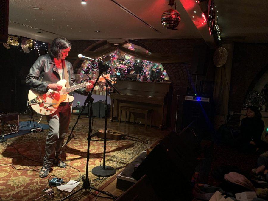 Ezra Furman performing at ONCE Ballroom