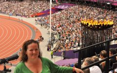 Kathy Maloney at the 2012 summer games in London.