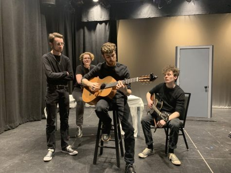 Student debuts play based on George Harrison