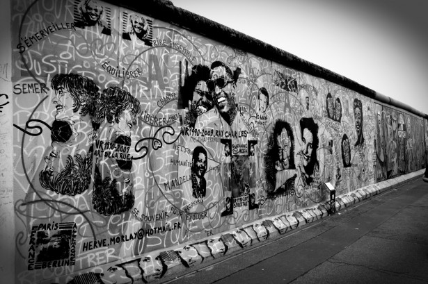 Berlin Wall once divided the country for decades