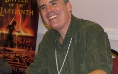 Rick Riordan, author of the