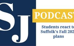 Students react to Suffolk's Fall 2020 plans