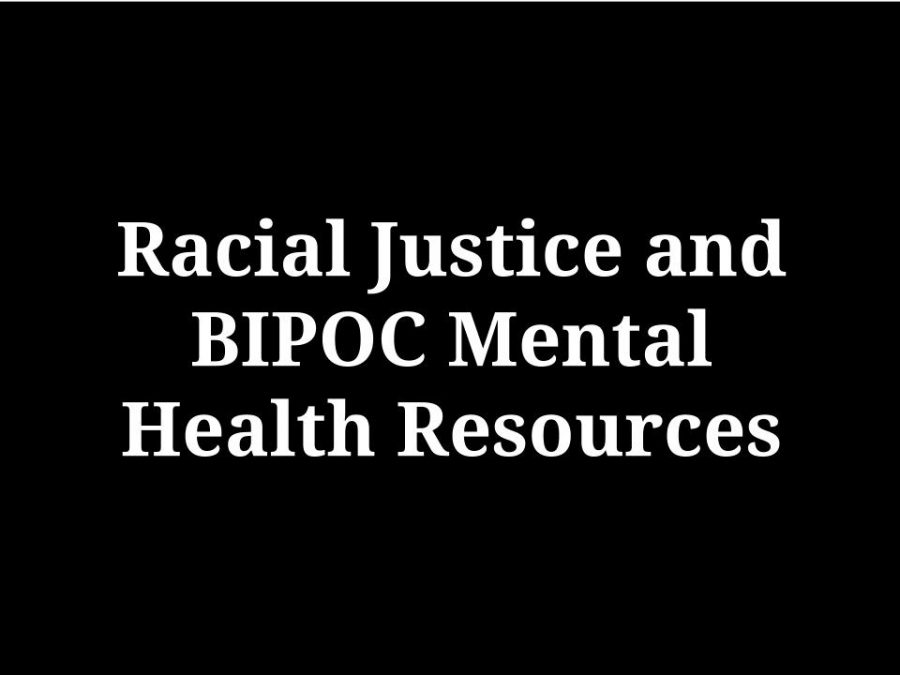 Racial Justice and BIPOC Mental Health Resources