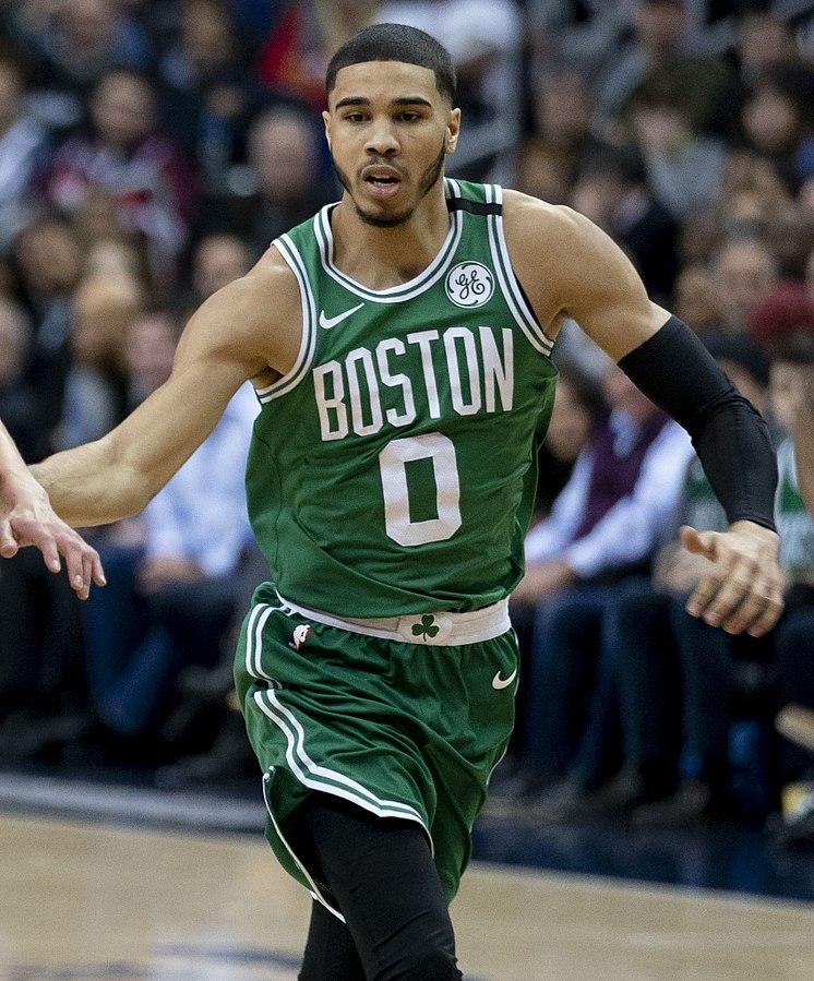 Celtics+player+Jayson+Tatum.+