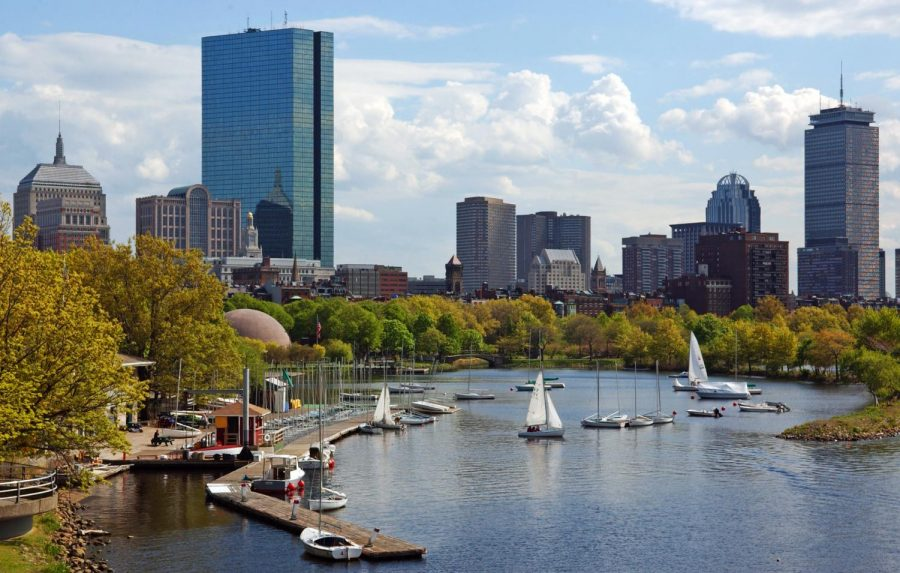 The city of Boston