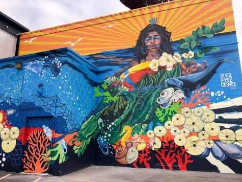 Silvia Lopez Chavez's mural titled