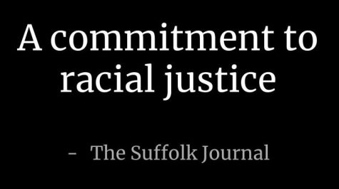 A commitment to racial justice — The Suffolk Journal