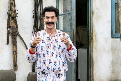 "The unusual Borat is now back in ""Borat Subsequent Moviefilm."""