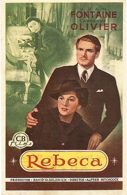 Alfred Hitchcocks 1940 movie adaptation of Rebecca.