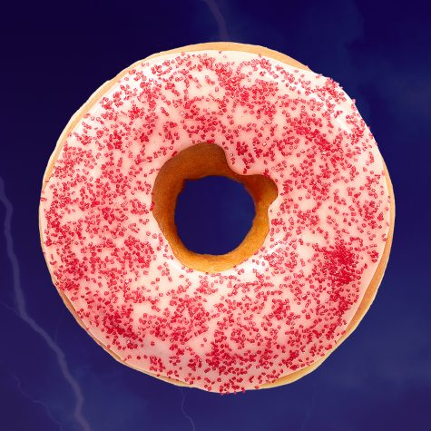 Dunkin' shows its spicy side with the new ghost pepper donut.