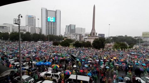 Student-led protests take to the streets of Thailand