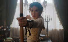 "Millie Bobby Brown as Enola Holme's in Netflix's new movie  ""Enola Holmes."