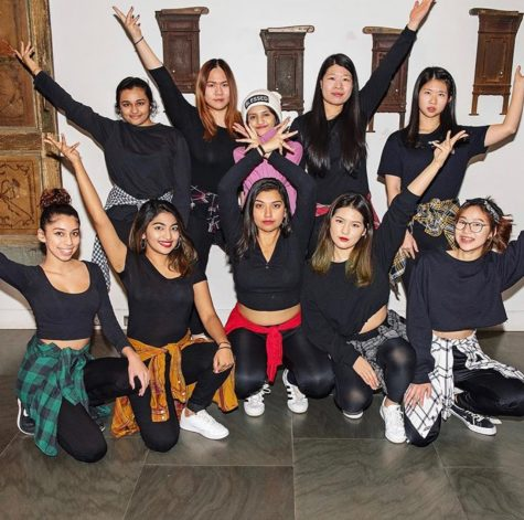 The Fusion Dhamaka dance team