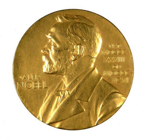The annual Nobel Prize medal