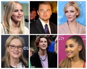Some of the celebrities that will appear in Adam McKay's new comedy