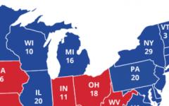 Wisconsin, Michigan and Pennsylvania, aka the blue wall