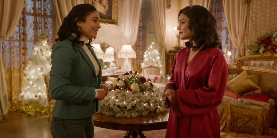 Vanessa Hudgens plays three look-a-like characters in Netflix's