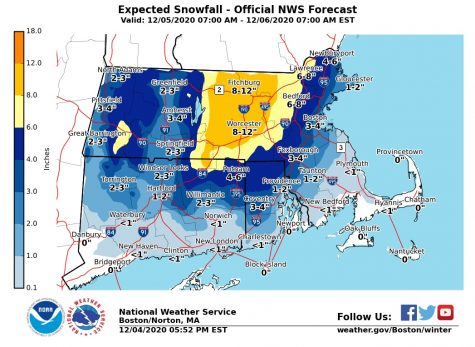 Winter storm warning in place for nor'easter this weekend