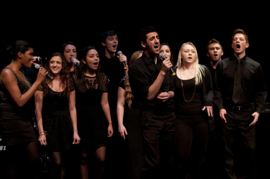 The Ramifications, Suffolk's  Suffolk's co-ed a cappella group, pictured here in 2013.