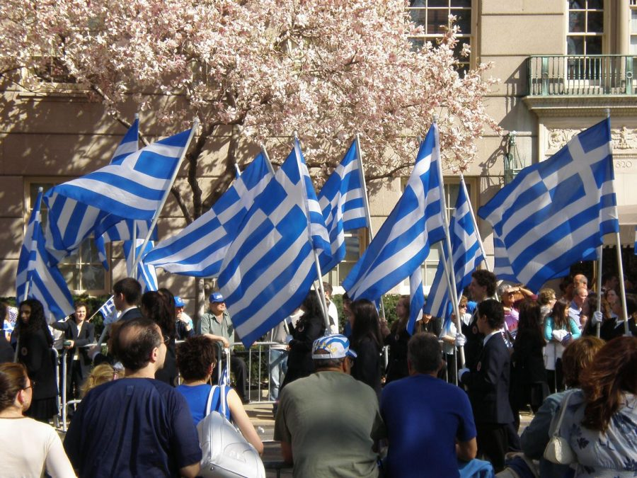 Greek-Americans celebrate independence from the Ottomans