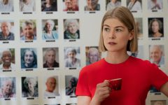 On Feb. 28, Rosamund Pike won a Golden Globe award for her performance as Marla Grayson in