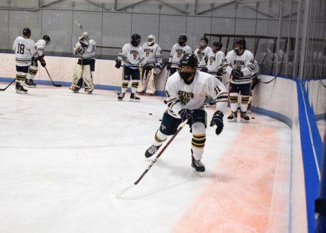 Kolowrat hat trick leads men's hockey to opening day triumph