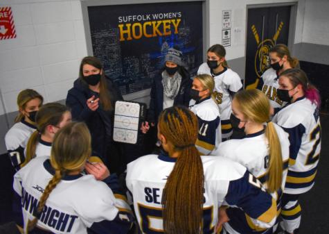 Women's hockey starts shortened season with first opening day-win in program history