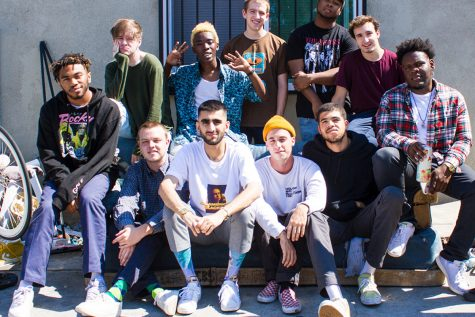 "The 13-member Brockhampton collective released their new album ""Roadrunner: New Light, New Machine"" on April 9."